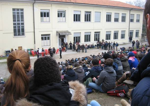 assemblea liceo cairoli  classico varese assemblea