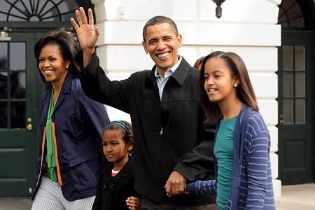 La famiglia Obama (inserita in galleria)