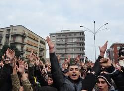 La manifestazione di Busto dall'obiettivo degli studenti (inserita in galleria)