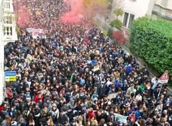 """Lo sciopero studentesco """"dall'alto"""" (inserita in galleria)"""
