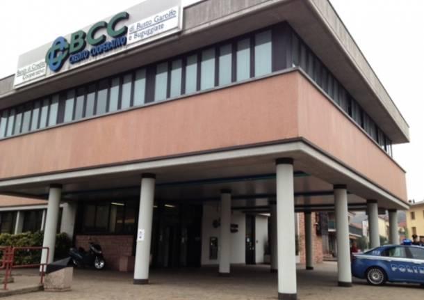 Rapina alla BCC di Buguggiate (inserita in galleria)
