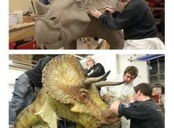 Zombie e dinosauri, gli effetti speciali di Andrea Leanza (inserita in galleria)