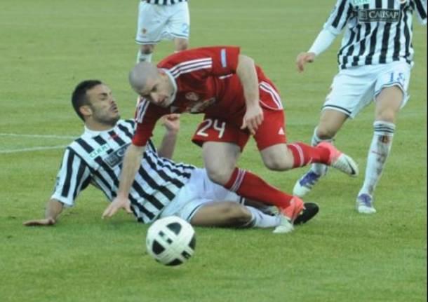 Ascoli Varese 1-1, la partita in tre minuti