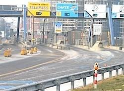 autostrada casello apertura
