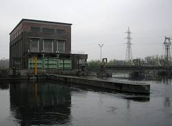 centrale elettrica tornavento apertura canale industriale