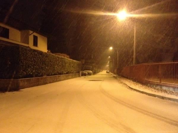 Gallarate romantica sotto la neve (inserita in galleria)