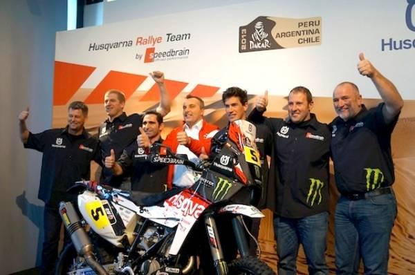 Husqvarna presenta la squadra Dakar (inserita in galleria)