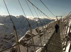 Il ponte sospeso più alto d'Europa (inserita in galleria)