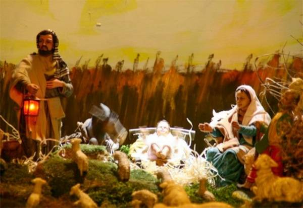 Il presepe in movimento in Valganna (inserita in galleria)