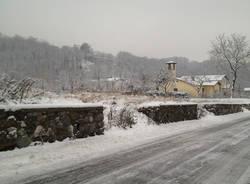 La neve in Valcuvia (inserita in galleria)
