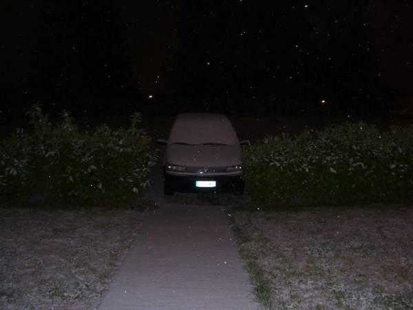 La nevicata notturna (inserita in galleria)