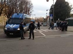 La protesta degli studenti a Saronno (inserita in galleria)