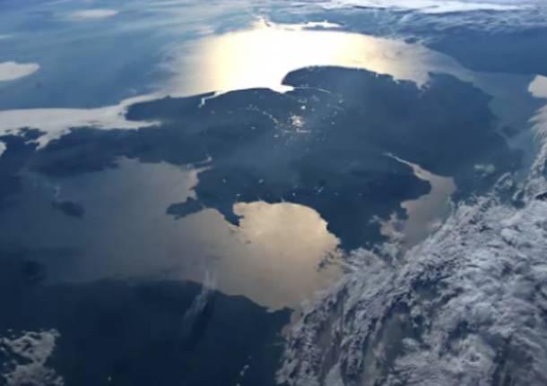 La Terra vista dalla Stazione Spaziale ISS