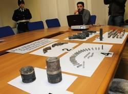 Le armi della mafia gelese a Busto (inserita in galleria)