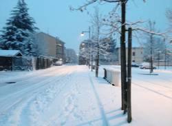 Neve a Tradate (inserita in galleria)