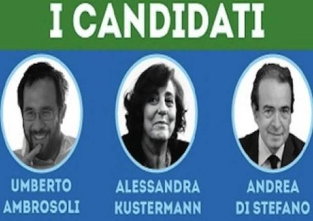 Primarie di Lombardia: il primo confronto
