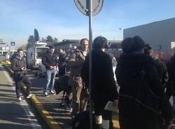 Attesa a Malpensa per Balotelli (inserita in galleria)