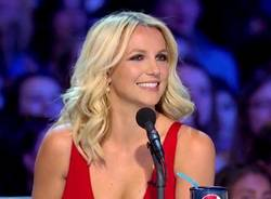 Britney Spears a XFactor Usa (inserita in galleria)