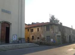 Demolizione nel centro di Cedrate (inserita in galleria)