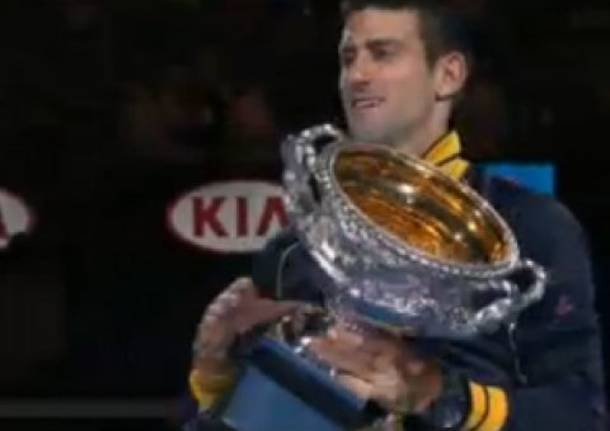Djokovic re degli Australian Open