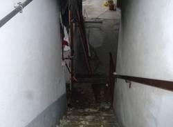 Esplode casa a Castronno/1 (inserita in galleria)
