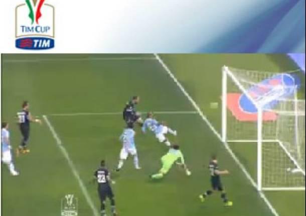 Juventus sconfitta dalla Lazio all'ultimo minuto