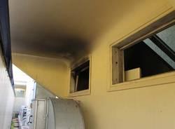 L'incendio all'ospedale di Busto (inserita in galleria)