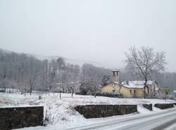 La Valcuvia sotto le neve (inserita in galleria)