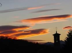 Lo spettacolare tramonto del 5 gennaio (inserita in galleria)