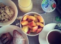Luca Conti e le sue colazioni su Instagram (inserita in galleria)