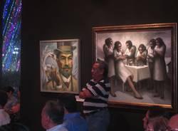 Michilini a fianco di Ruben Darìo (inserita in galleria)