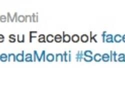 Monti sale su Facebook (inserita in galleria)