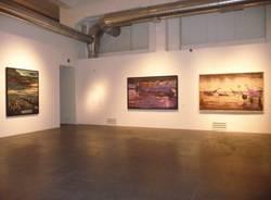Omar Galliani e Alberto Busci al Museo Maga (inserita in galleria)