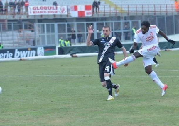 Varese - Grosseto, il gol di Ebagua