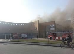 A fuoco il museo Maga (inserita in galleria)