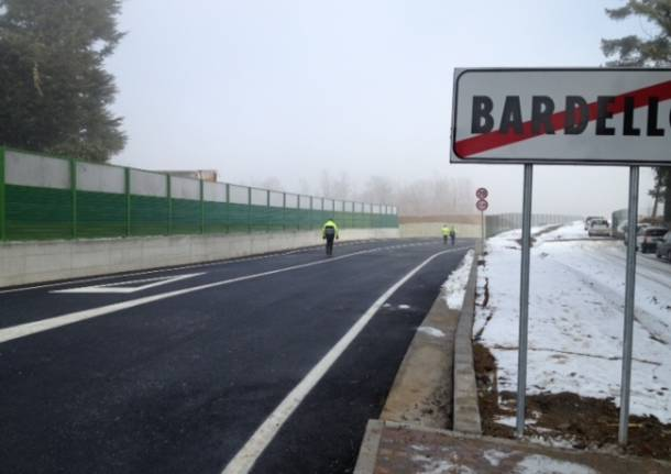 Bretella provinciale Bardello Besozzo (inserita in galleria)
