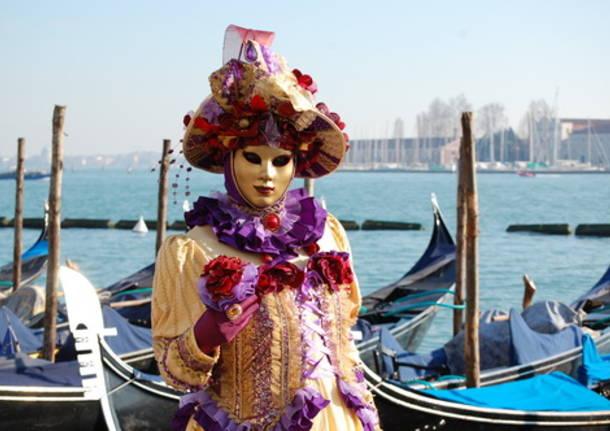 carnevale di Venezia 2013 sul canale della Giudecca