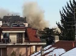 Incendio al Maga di Gallarate (inserita in galleria)