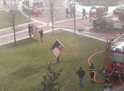 Incendio al Maga, quadri evacuati dal Maga (inserita in galleria)