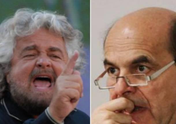 Incontro Bersani e Movimento 5 Stelle in diretta
