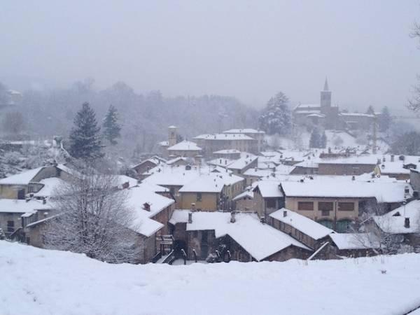 Neve sulla Varesina (inserita in galleria)