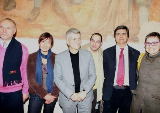 Vendola a Varese incontra la Cgil (inserita in galleria)