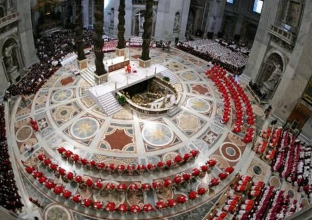 La diretta della Messa Pro Eligendo