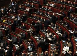 Le immagini dalla Camera dei Deputati (inserita in galleria)