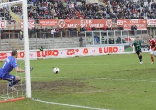 Varese - Sassuolo, la partita in tre minuti