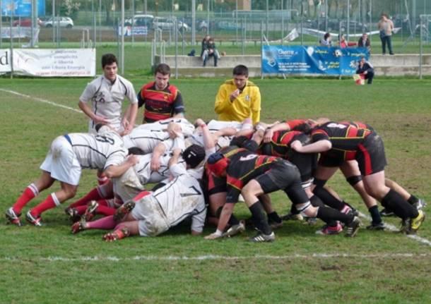 Rugby: Bergamo - Varese 24-5 (inserita in galleria)