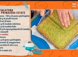 Alla prova del cuoco, l'insalatona di asparagi di Cantello (inserita in galleria)