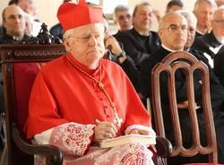 Angelo Scola al Seminario di Venegono (inserita in galleria)