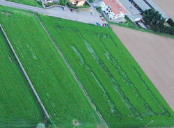 Disegni nel grano, le immagini dall'alto (inserita in galleria)