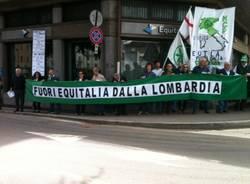 """""""Fuori Equitalia dalla Lombardia"""": la Lega scende in piazza (inserita in galleria)"""